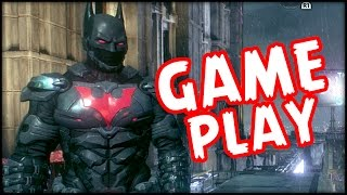 BATMAN Arkham Knight - Batman Beyond Gameplay