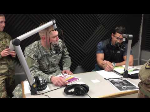 AFN Daegu Live Radio Broadcast - Sgt. Pearce