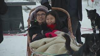 Туристы из Азии устремляются в Лапландию к Санта-Клаусу (новости)(, 2017-12-29T06:24:27.000Z)