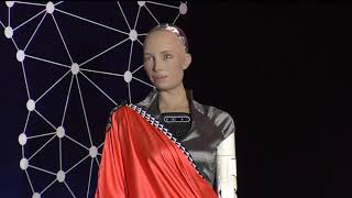 Sophia the Robot remarks at  #TAS2019 Opening Ceremony  | Kigali,15th May 2019