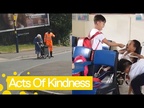 Random Acts of Kindness - Restoring Faith in Humanity 2019 – Newsflare