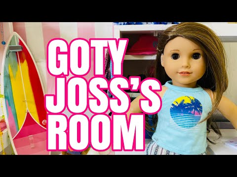 Girl Of The Year Joss's Bedroom - American Girl Doll