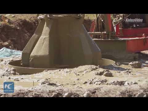4,000 meters above sea level! Highway construction starts in Tibet