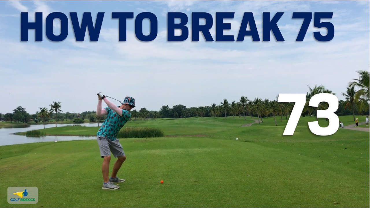 Messy SCRATCH GOLF - How to break 75 Like a Baus