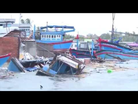 VTC14 | Khánh Hòa thiệt hại nặng sau cơn bão số 12