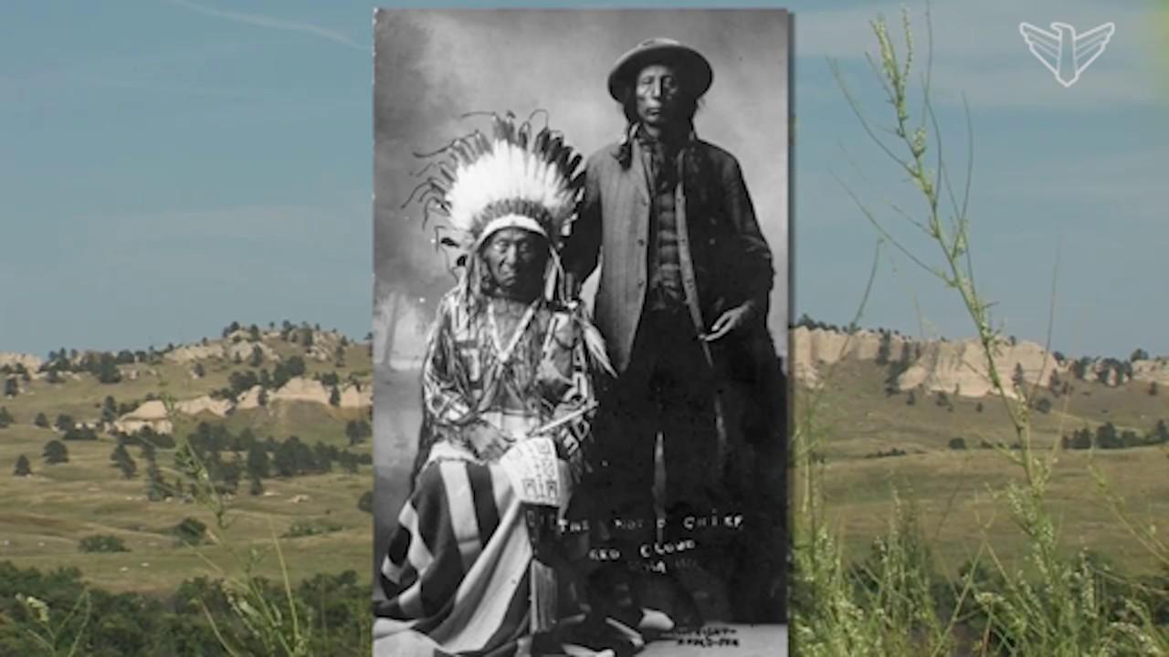 Landscape of South Dakota: Chief Red Cloud