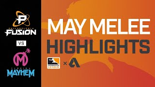 Akshon Highlights | Semi-Final B | Philadelphia Fusion vs Florida Mayhem | May Melee NA | Day 3