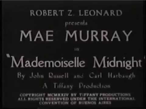 Mademoiselle Midnight Mademoiselle Midnight 1924 YouTube