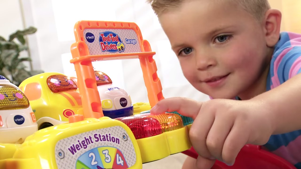Buy Vtech Toot Toot Drivers Garage Multicoloured From 163 47