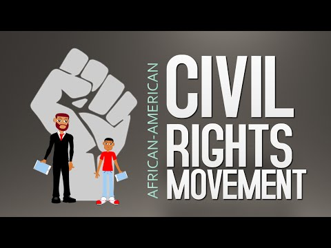 Civil Rights Movement Cartoon: Watch this Civil Rights Movement for Children Cartoon (Black History)