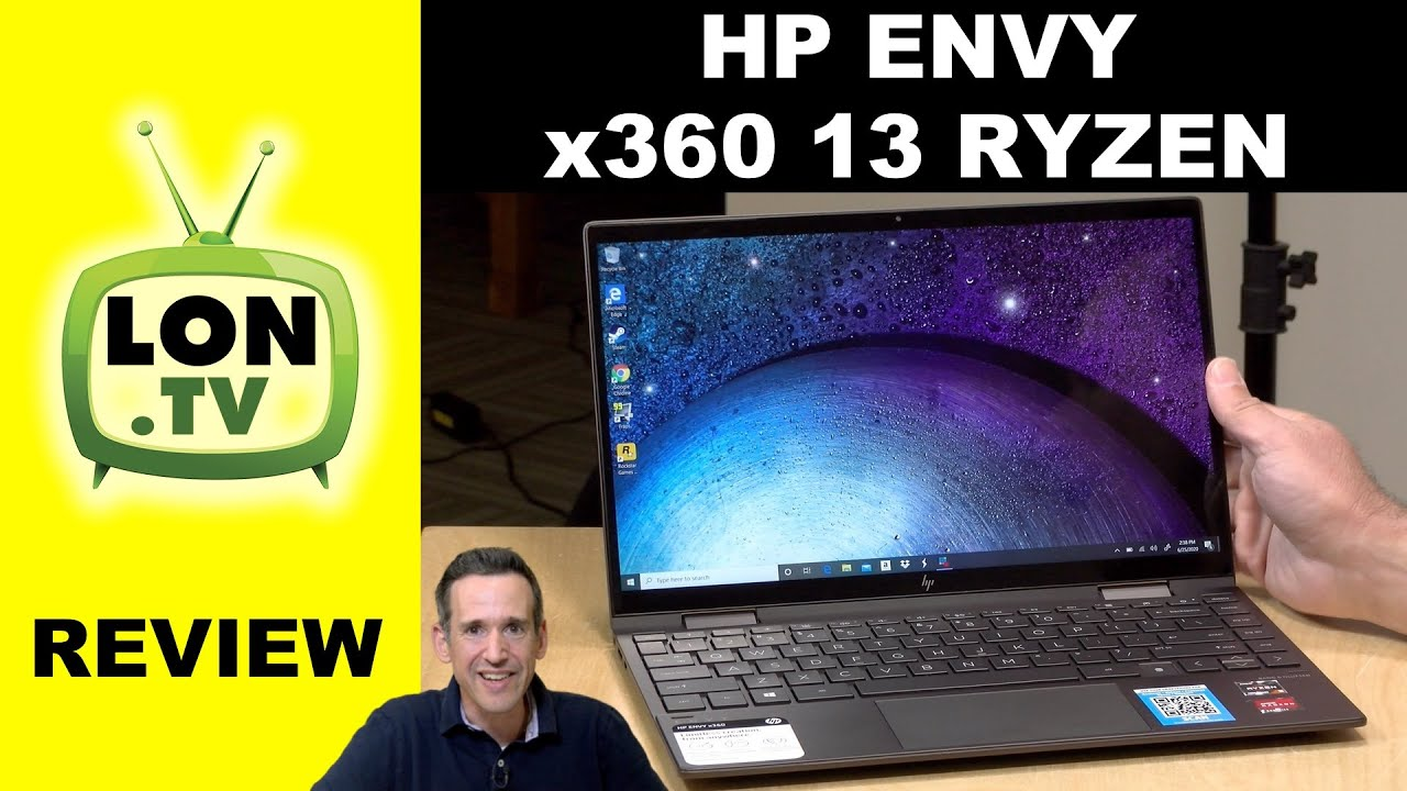 Hp Envy X360 13 Review With Amd Ryzen 5 4500u Youtube