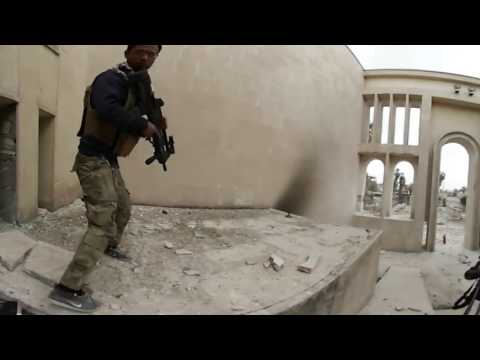 Iraq: 360° camera captures Mosul museum under mortar attack