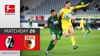 Sc freiburg - fc augsburg | 2-0 highlights matchday 26 – bundesliga 2020/21