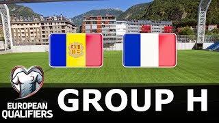 Andorra vs France - European Qualifiers - PES 2019