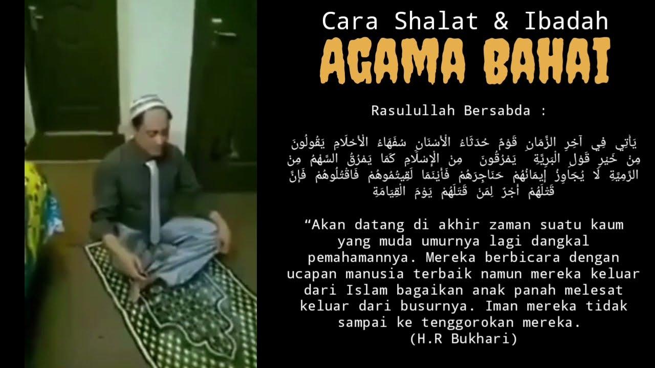 """AGAMA BAHAI"" Muncul Lagi Di Indonesia, Berikut cara Ibadah Aneh Mereka & Komentar KEMENAG RI"