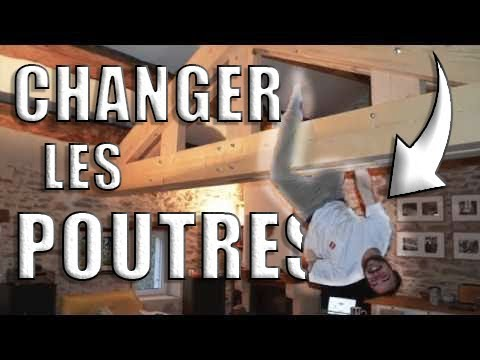 How to change the roof trusses of an old house without removing the roof
