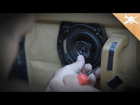 Parking Lot Car Stereo Upgrade