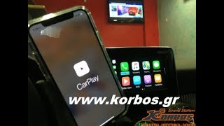 Apple CarPlay,Android Auto,Mirroring adaptor for Mercedes A45 AMG www.korbos.gr
