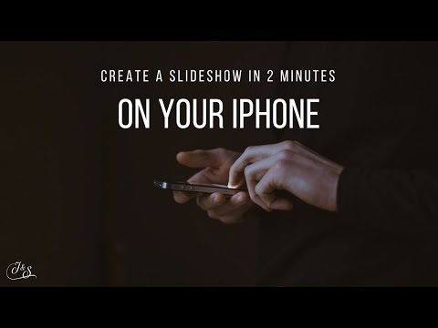 How To Make a Slideshow on Your iPhone In 2 Minutes