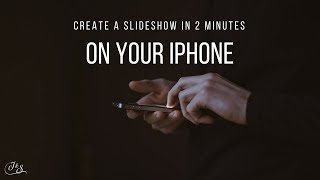 How To Make a Slideshow on Your iPhone In 2 Minutes thumbnail