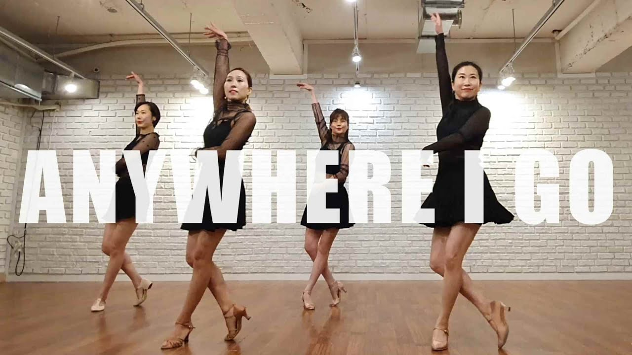 Anywhere I Go by Min LineDance / Improver Level