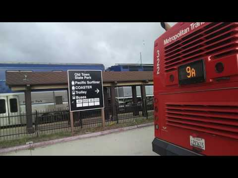 Old Town San Diego Bus & Railfanning