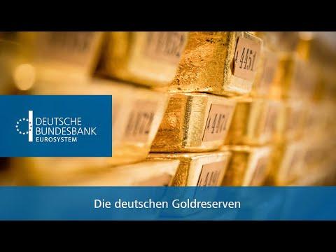 Die deutschen Goldreserven