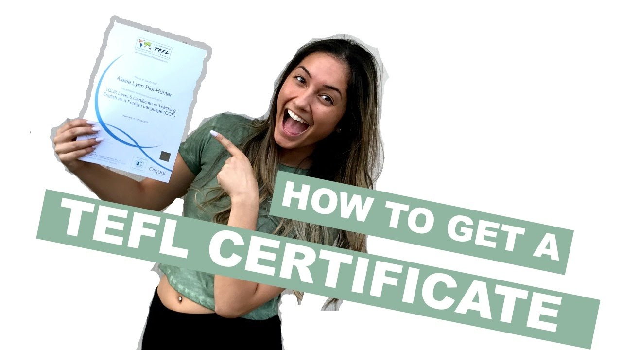How to get a tefl certificate tips tricks review youtube how to get a tefl certificate tips tricks review 1betcityfo Image collections