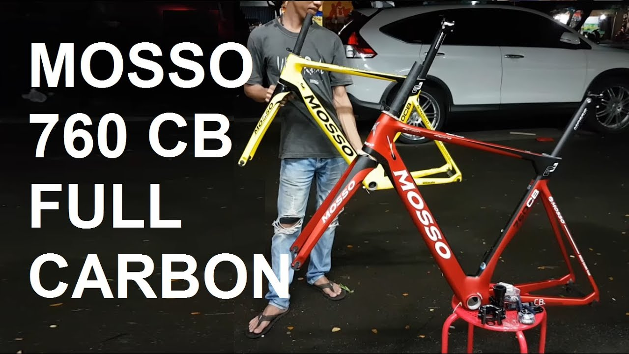 Frame Roadbike Carbon Mosso 760 Cb Aero Merah Kuning 52 Dan Hitam 49 Toolkit Sepeda 11 In 1 Toko Majuroyal