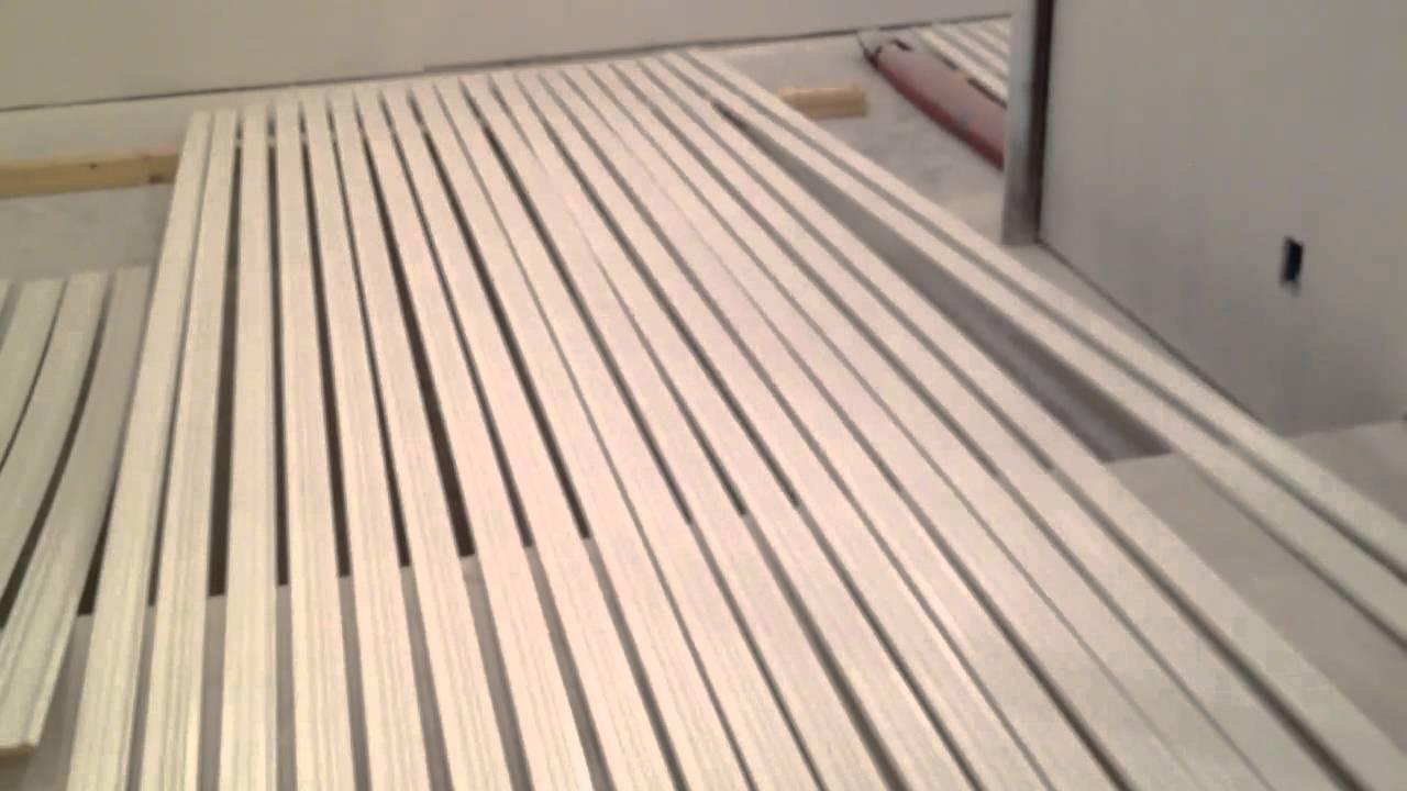 Finishing basement  spraying paint on trim  YouTube