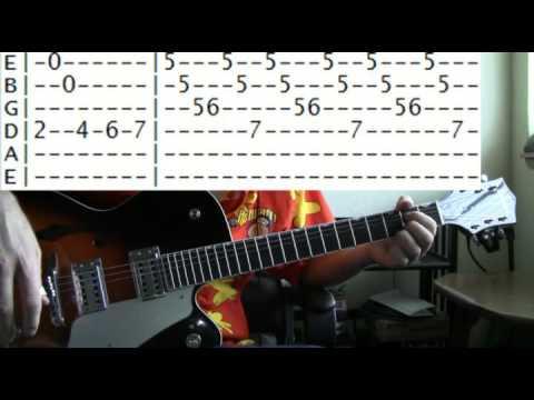 guitar lesson beverly hillbillies theme tab youtube