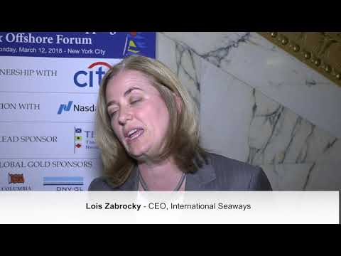 2018 12th Annual International Shipping & Offshore Forum -  Lois Zabrocky Interview