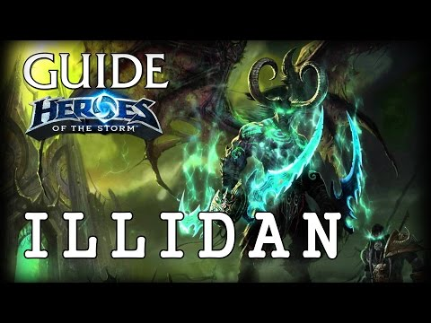 видео: heroes of the storm Гайд Иллидан - guide illidan hots