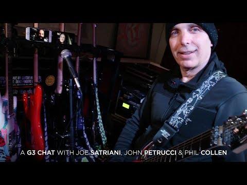 A G3 Chat w/ Joe Satriani, John Petrucci & Phil Collen