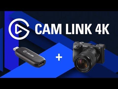 Elgato Cam Link Ultra HD 4K Camera Recording Adapter for PC/Mac