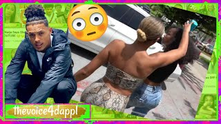 King Cid Girlfriend GET$ !NTO !T W/ Dymondsflawless After She Pops Up @ his Crib (Part 2)