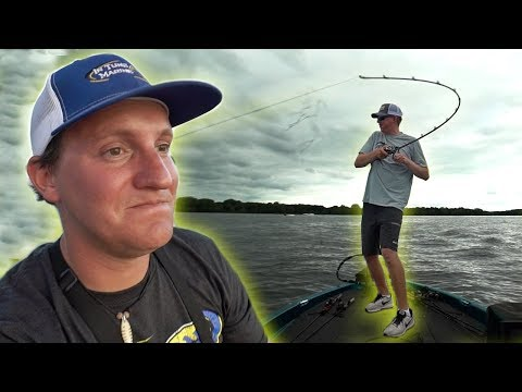 GIANT FISH STRAIGHTENED HIS HOOK! (Tourney Tuesday Finale)