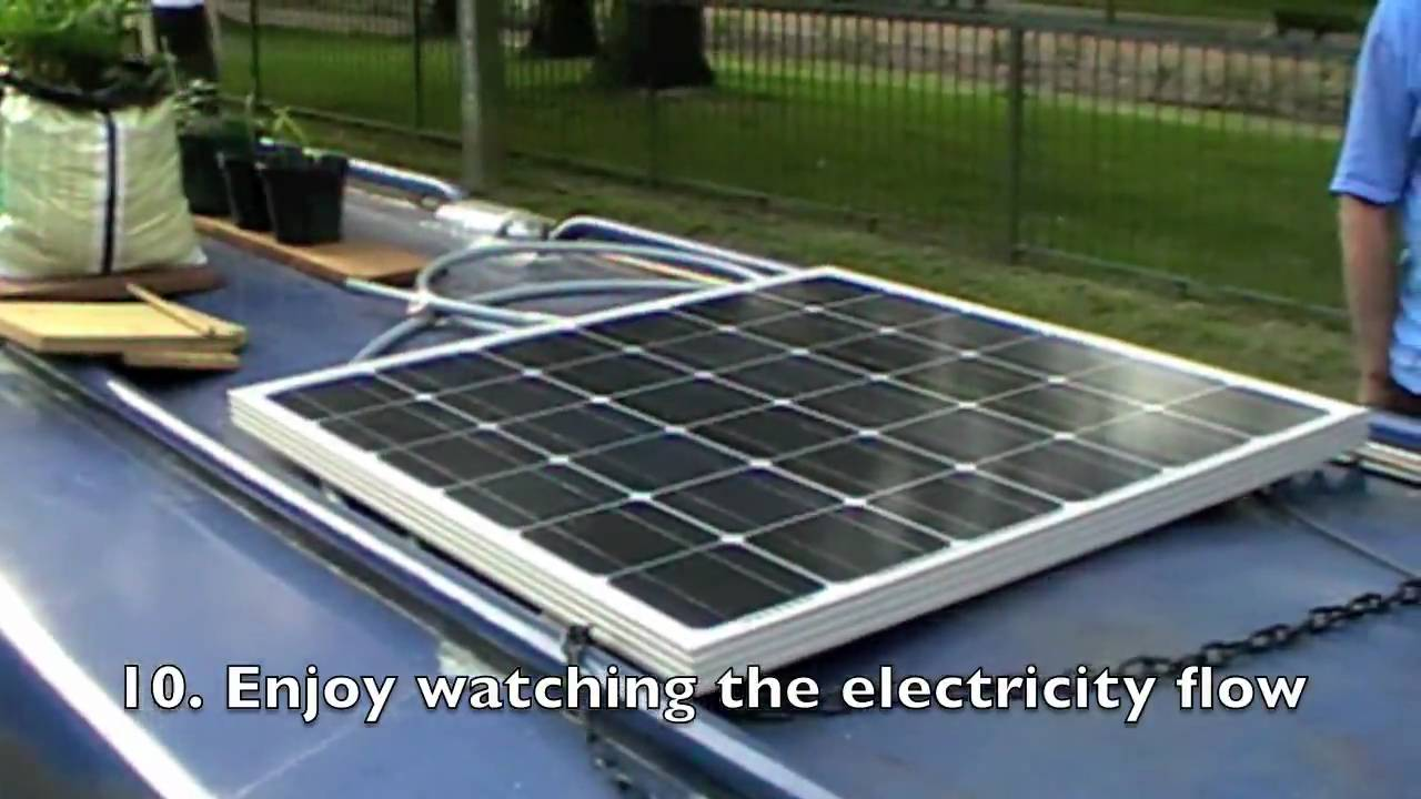 Director S Cut How To Install An Akt Solar Panel On A