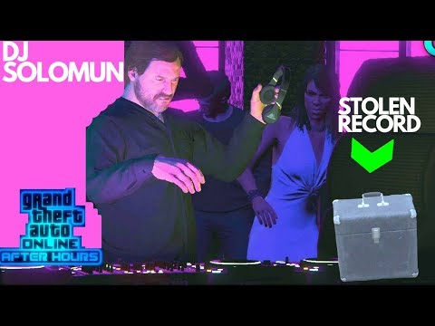 English Dave Calls You Solomun Classic Records Vinyl Stolen GTA After Hours DLC Mission