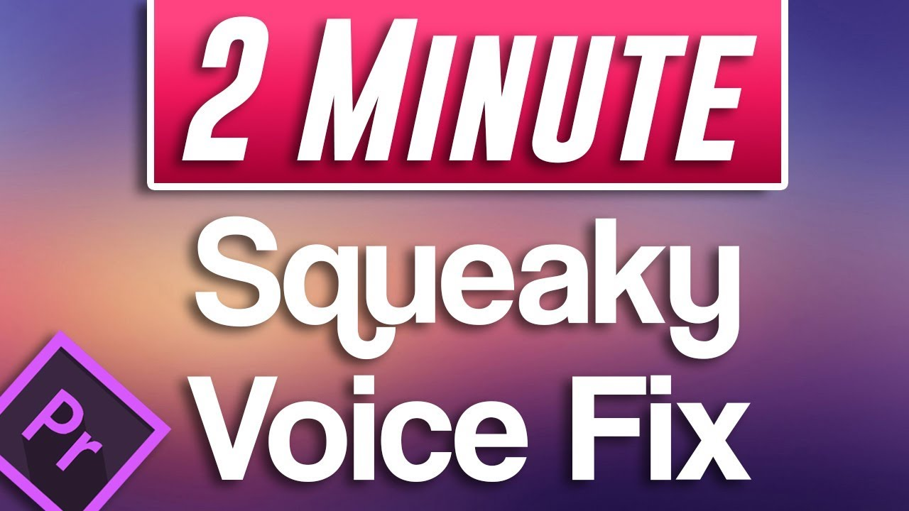 how to fix gay voice