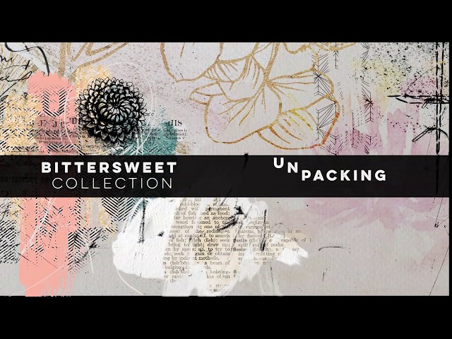 Unpacking Bittersweet Collection by NBK-Design