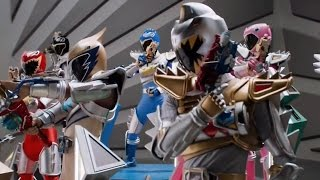 Dino Super Charge - Freaky Fightday - Megazord Fight (Episode 16)  Power Rangers Official