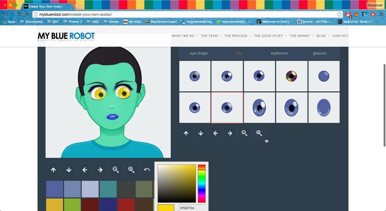 AV: My Blue Robot - technopolis15