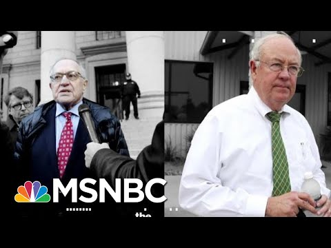 Trump Assembles Made-For-TV Legal Team For Senate Impeachment Trial   The 11th Hour   MSNBC