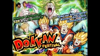 Broly dokkan festival summoning event: dragon ball z dokkan battle