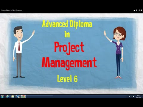 Advanced Diploma in Project Management