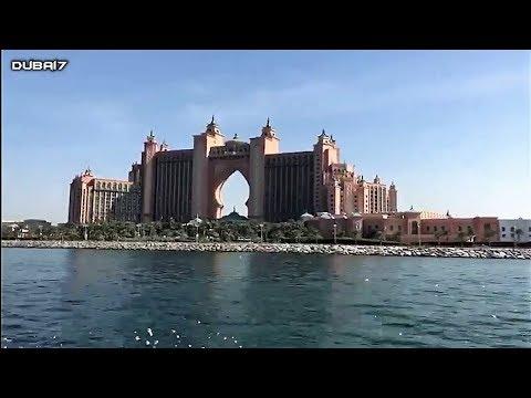 Dubai Sport Yacht ride near Jumeirah Beach Residence & Atlantis Hotel Palm Dubai
