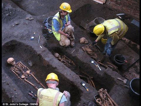 How the grisly discovery of 1,300 skeletons under a University of Cambridge college could unlock