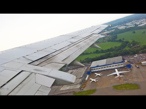 British Airways Boeing 737-400 Take Off at London Gatwick Airport [1080p HD]