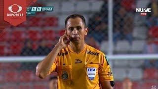 Gol de Fernández | Necaxa 2 - 1 Pumas | Clausura 2019 - Jornada 2 | Televisa Deportes